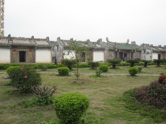 Chen Cihong Former residence: View of the court yard 1