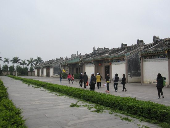 Chen Cihong Former residence: View of the court yard 2