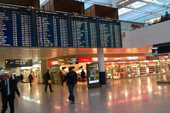 Hilton Munich Airport: The nearby Munich International Airport