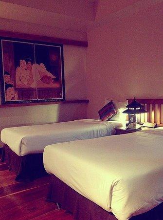 Phowadol Resort and Spa : บรรยากาศในห้องพัก