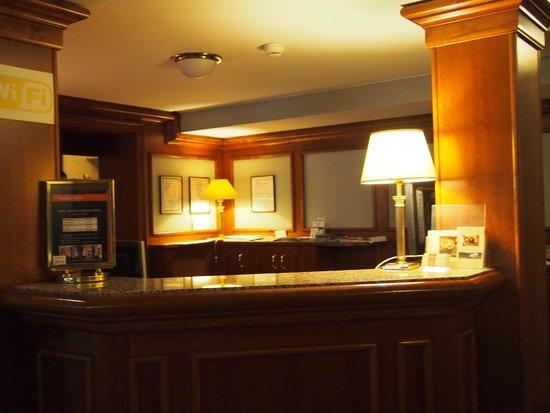 Hotel Ariston & Ariston Patio: フロント