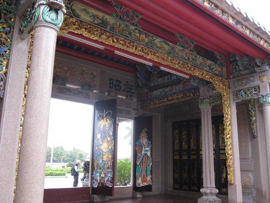 Chen Cihong Former residence: carvings 2