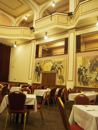Hotel Ariston & Ariston Patio: 劇場のような食事場所