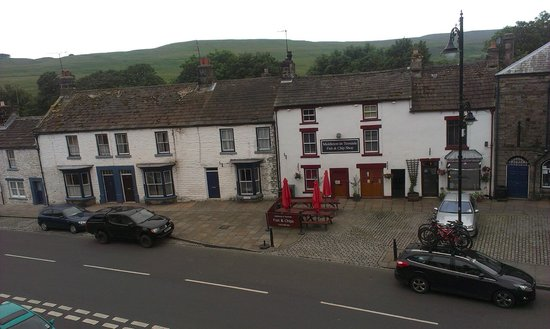 Teesdale Hotel : View from hotel window