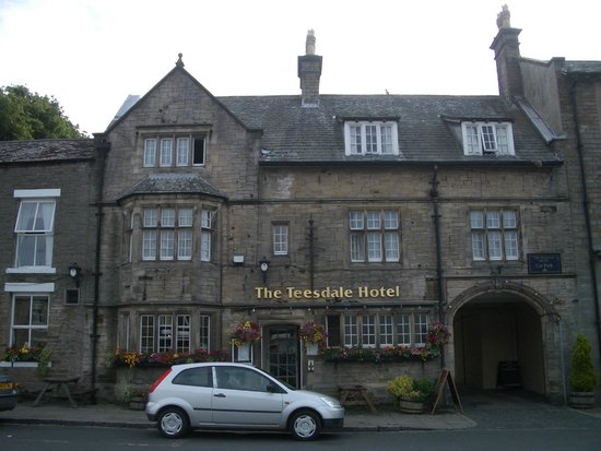 Teesdale Hotel : View to hotel window