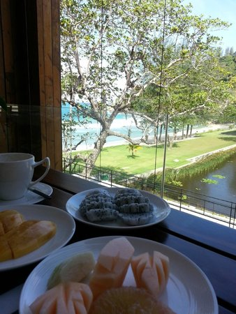 The Naka Phuket : View from restaurant