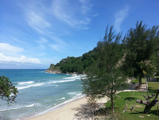 The Naka Phuket : Private Beach