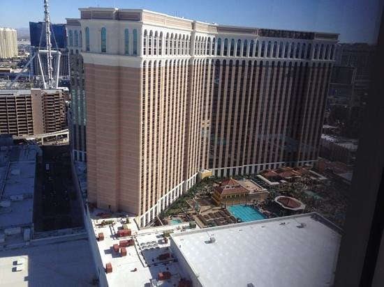 The Palazzo Resort Hotel Casino: view from the room