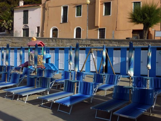 San Lorenzo al Mare, Italy: Umkleide