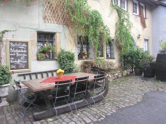 Altfrankische Weinstube : Около отеля