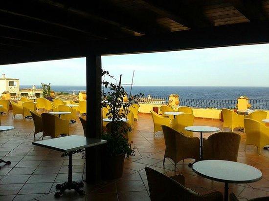 Colonna Resort: Terrazza al quinto piano