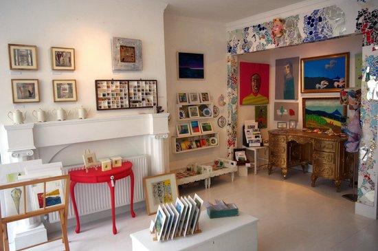 Fannie & Fox: shop interior