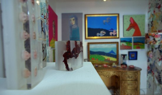 Fannie & Fox: paintings