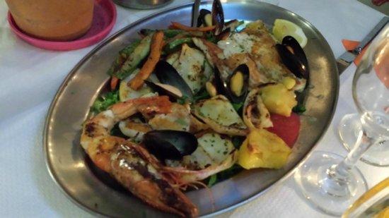 Opa Taverna : Fritto misto avec grigliata mista pour 38 euros