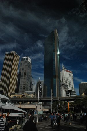 Sydney Harbour Marriott Hotel at Circular Quay : Hotel from Circular Quay