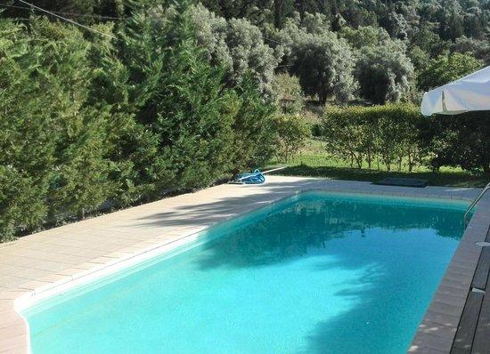 Il Viaggio Verde : private pool