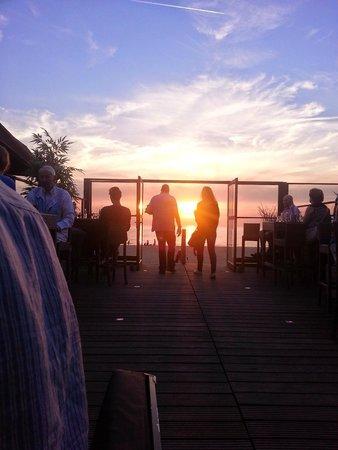 Blu Beach: La vista dai tavoli