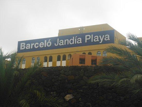 Occidental Jandia Playa: cartel
