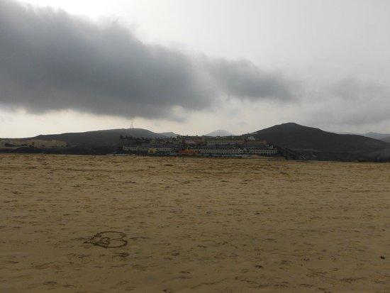 Occidental Jandia Playa: vista desde playa