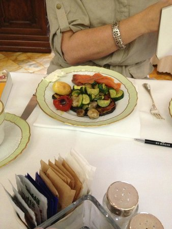 The St. Regis Florence : breakfast