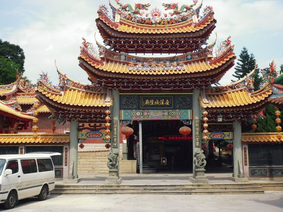 Anxi County, Trung Quốc: main entrance to the temple