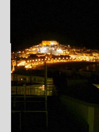 Agora Spa & Resort: vistas noche