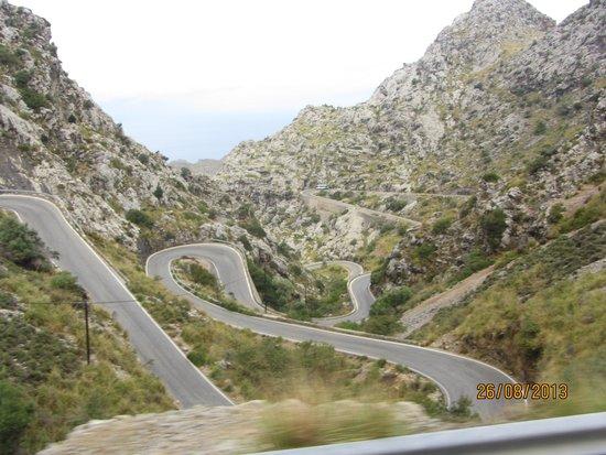 Cañón de la Calobra: Дорога в каньон