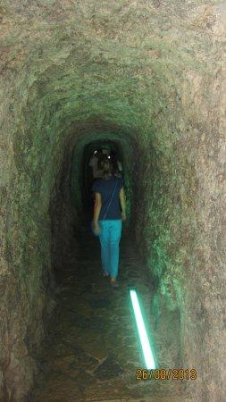 Cañón de la Calobra: В тунеле