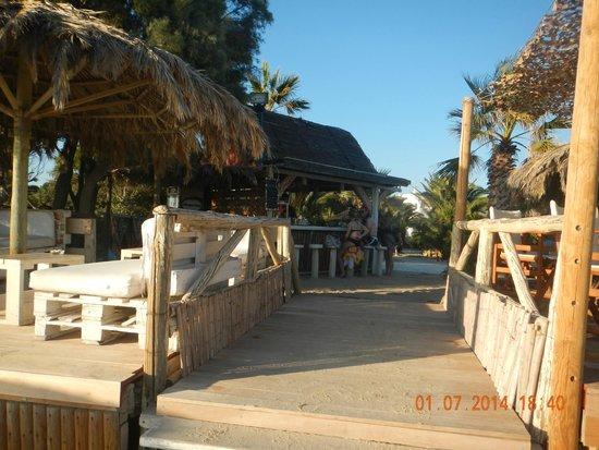 Medusa Resort: Beachbar