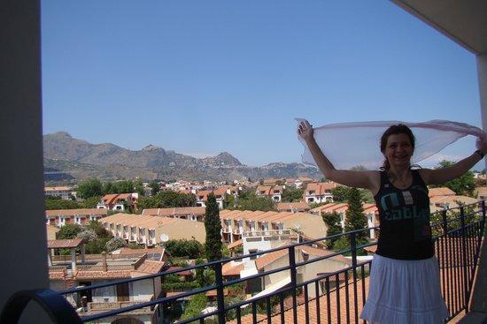 Sant Alphio Garden Hotel & Spa: balcony view