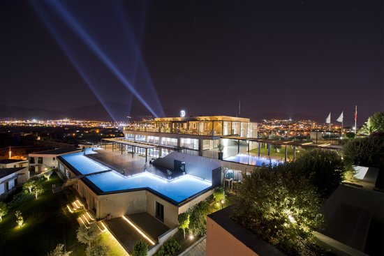 Ramada Resort Bodrum: Night Outside View
