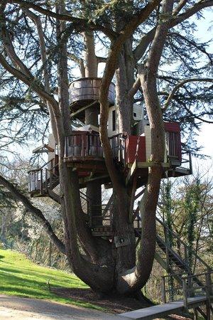 Château de Langeais : Cabane dans le parc