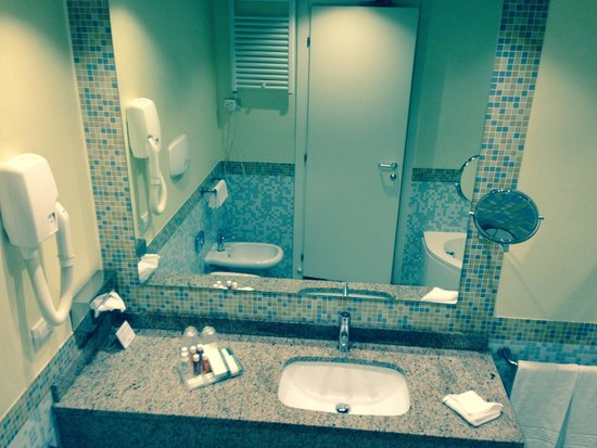 Crowne Plaza Venice East-Quarto d'Altino : it's all there bath and seperate shower and bidet