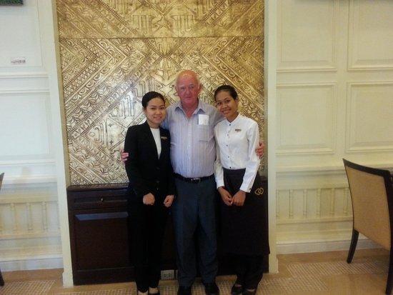 Sofitel Phnom Penh Phokeethra: Me staff members