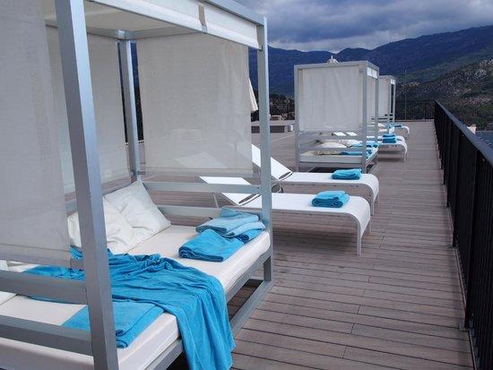 Jumeirah Port Soller Hotel & Spa: Sun deck
