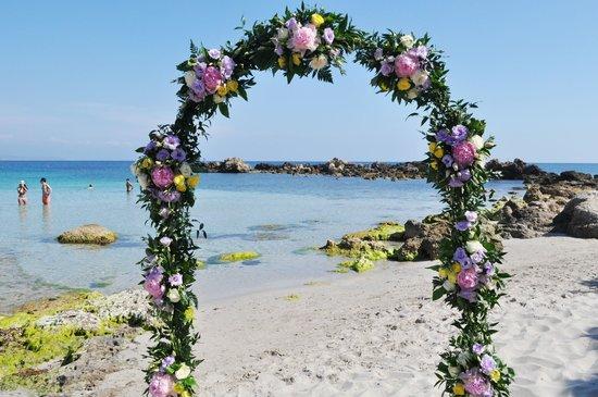 Certificato Matrimonio Simbolico : Matrimonio simbolico spiaggia privata foto di hotel dei pini