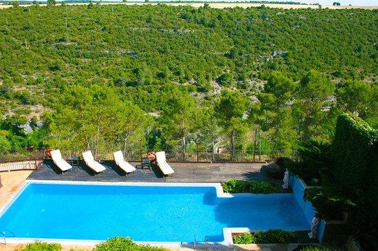 Hotel Palacio Villa de Alarcon & Spa : Vistas espectaculares desde la habitación. Ver estas vistas desde la habitación emocionan.