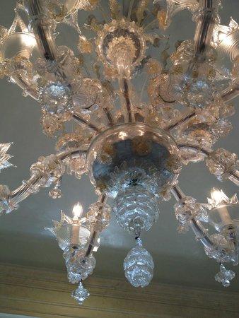 Hotel Londra Palace : murano glass