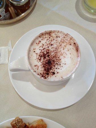 Hotel Londra Palace: good coffee