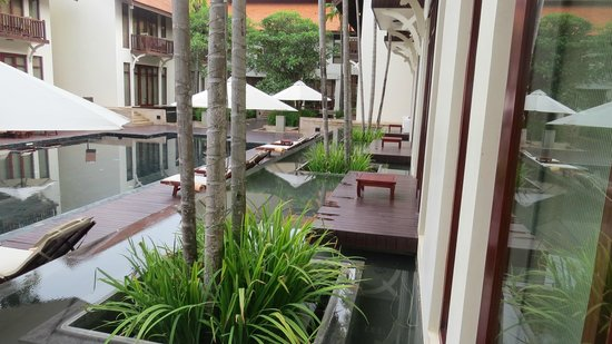 Anantara Angkor Resort: Groud floor view from room