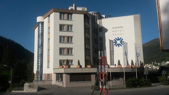 Kongress Hotel Davos: Hotelansicht