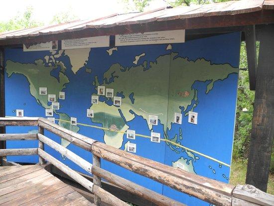 Le village des Tortues : Ареал распространения