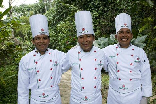 Yachana Lodge: The wonderful chefs