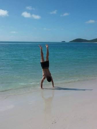 Whitehaven Beach: vista 1