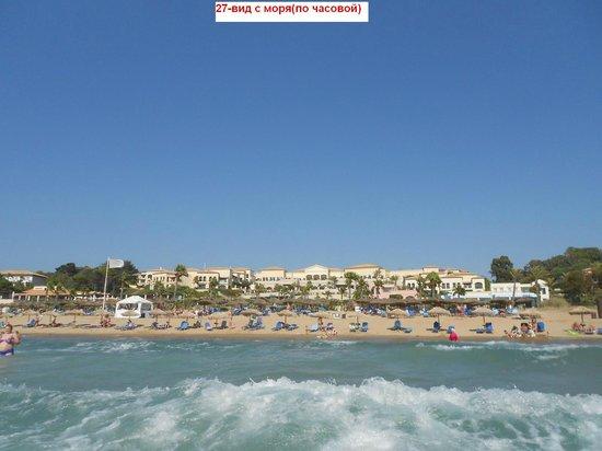 Grecotel Olympia Oasis: 28-вид с моря