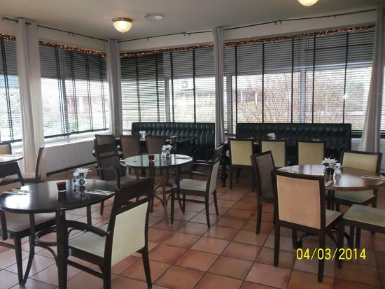 New West Inn Amsterdam: Zona de comedor