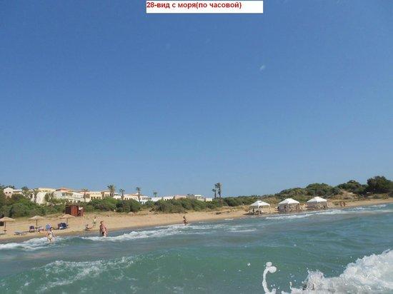 Grecotel Olympia Oasis: 27-вид с моря