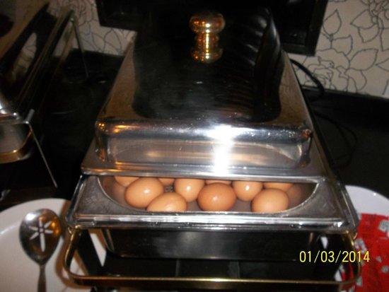 New West Inn Amsterdam : Huevos cocidos