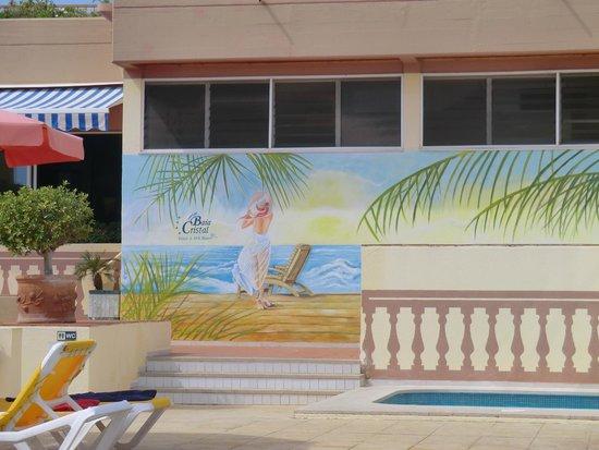 Hotel Baia Cristal: particolare decorativo