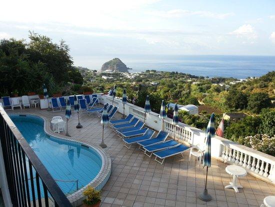 Hotel La Ginestra : panorama dalla mia camera